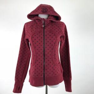 Lululemon Polka Dot Scuba Hoodie Jacket #1107